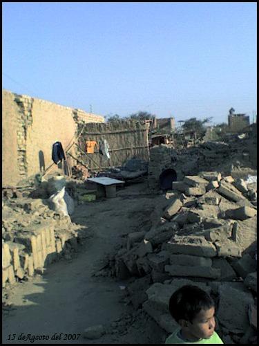 Temblor en ICA 15 de agosto 2007
