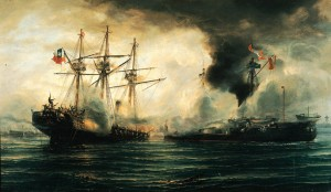Melchorita, Guerra del Pacifico