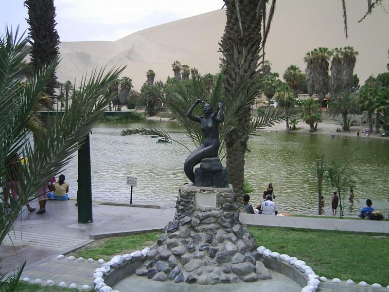 Leyenda de Huacachina en ICA