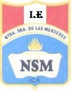 """Insignia de la INSTITUCIÓN EDUCATIVA """"NUESTRA SEÑORA DE LAS MERCEDES"""" de ICA"""