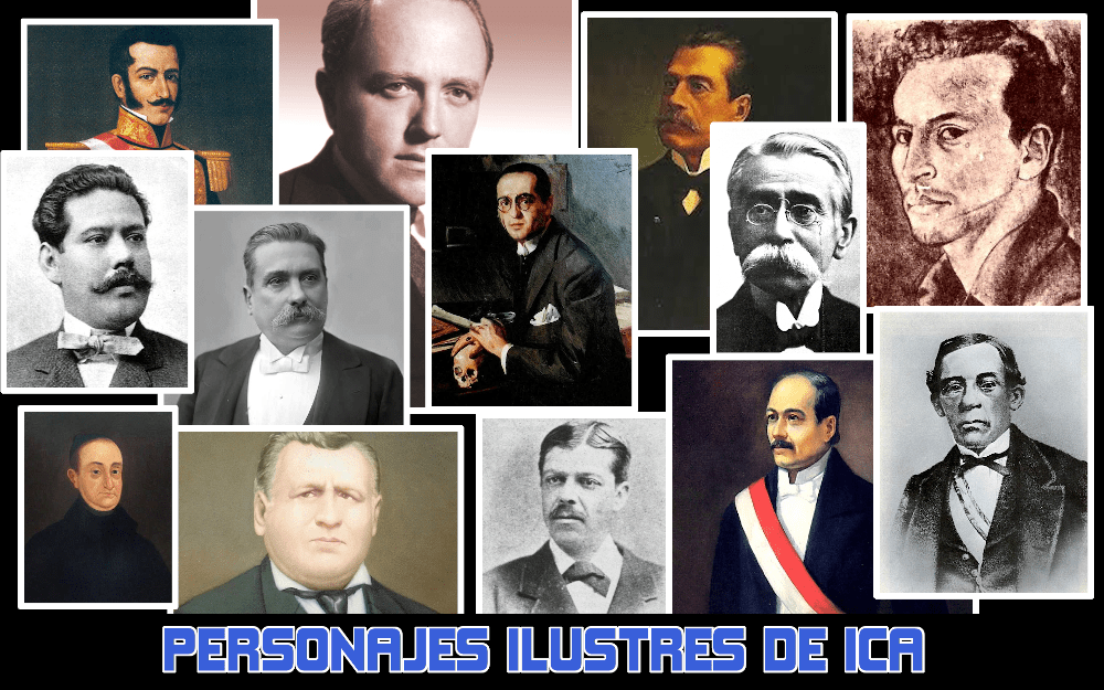 Personajes Ilustres de Ica Perú