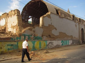 Iglesia San Jose de ICA Jr Tacna Terremoto de ICA