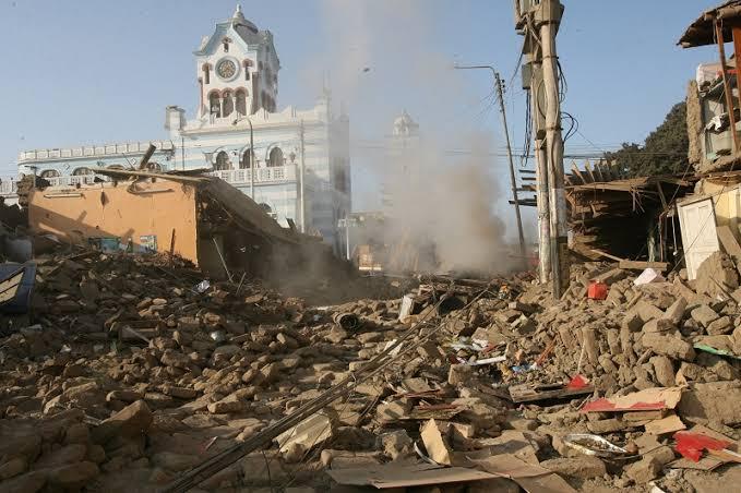 ARCHIVO: Terremoto en Ica del año 2007