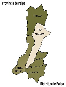 Distritos de Palpa