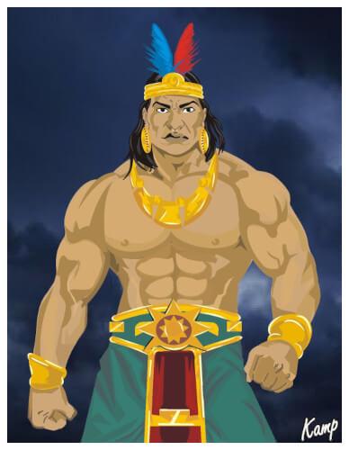 Guerrero Inca - Príncipe Cahuachi  | Nazca Perú